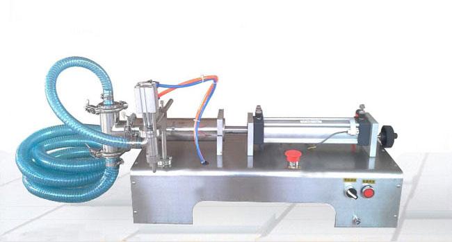 单头半自动液体灌装机